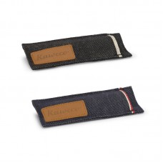 Kaweco SPORT 2-Pen Denim Pouch Black/Blue 牛仔布筆套